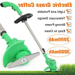 12V Grass Trimmer Edger Weeds Lawn Eater Electric Cutter Rec