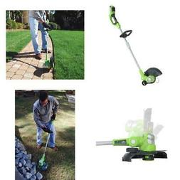 "13""Cordless String Trimmer Weed Eater Grass Edger Wacker 40V"