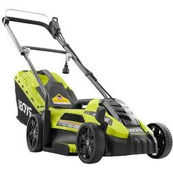 RYOBI 13 In Mower Electric Push Mover Walk Behind Lawn Mower