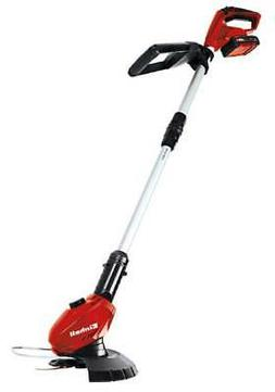 18V Cordless Grass Trimmer Kit in Black and Red