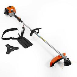 2 in 1 straight shaft trimmer gas