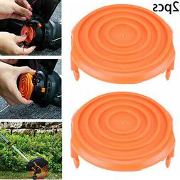 2 Pack Spool Cap Covers For Worx Cordless Grass Trimmer 5001