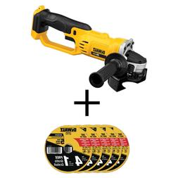 20-Volt MAX Cordless 4-1/2 in. to 5 in. Grinder  with Bonus