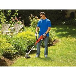 20v Cordless String Grass Trimmer Lawn Edger Automatic Feed