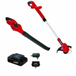 "20V MAX Cordless Lightweight 10"" String Trimmer Sweeper 2-in"
