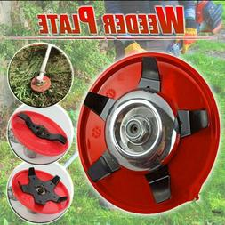 5 Blade Manganese Weeder Plate Lawn Mower Grass Eater Trimme