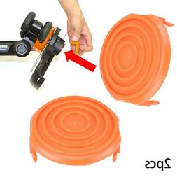 2PCS Trimmer Spool Cap Cover 50019417 For WORX WA0216 Corded