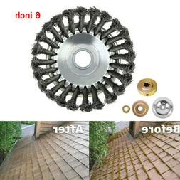 """6/8"""" Pavement Surface Grass Trimmer weed blade String Cordle"""