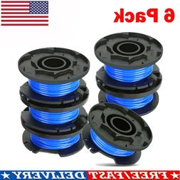 6 Pack For Ryobi Weed Eater Spool Line String Trimmer Grass