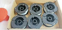 """6X Replacement Spool Line AF-100-3ZP For BlACK+DECKER 0.065"""""""