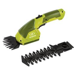 7.2-Volt Cordless 2-in-1 Grass Shear and Hedge Trimmer with