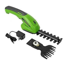 WORKPRO 7.2V 2-in-1 Cordless Grass Shear+Shrubber Trimmer_Ha