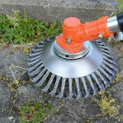 "6"" INDESTRUCTIBLE TRIMMER Garden Grass Trimmer Head Weed B"