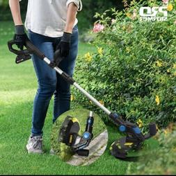 cordless electric grass trimmer