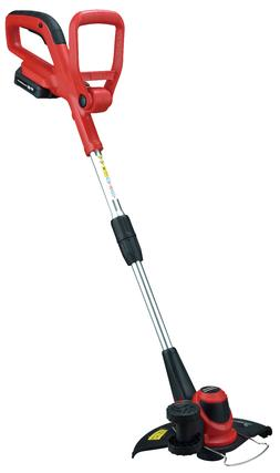"Cordless String Grass Trimmer Electric 20V Garden 10"" Weed E"