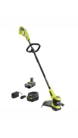 Electric String Trimmer Weed Wacker 18V w/ Battery and Charg