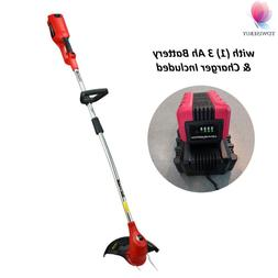 Electric Weed Eater Wacker Cordless String Grass Trimmer Yar