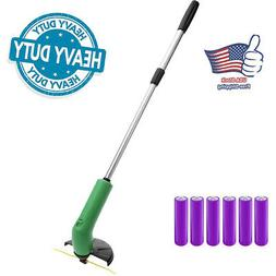 Handheld Cordless Electric Grass Trimmer For Garden Weed Str