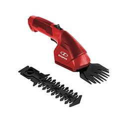 Sun Joe HJ604C-RED 7.2V Cordless 2-in-1 Grass Shear, Hedge T