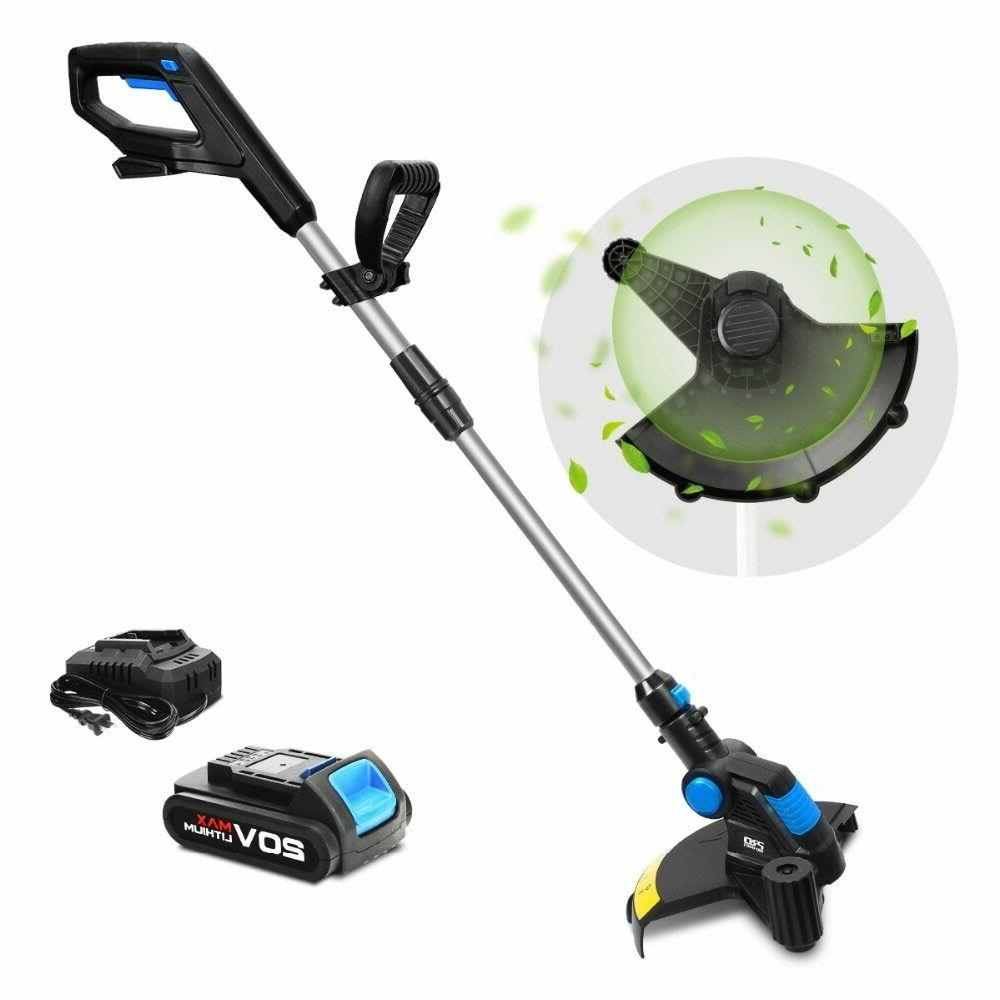 grass trimmer electric grass trimmer cordless lawn