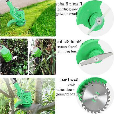 21V Li-Ion Powerful Electric Grass Weeds Lawn Edger