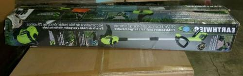 5 cordless grass string trimmer 10 in