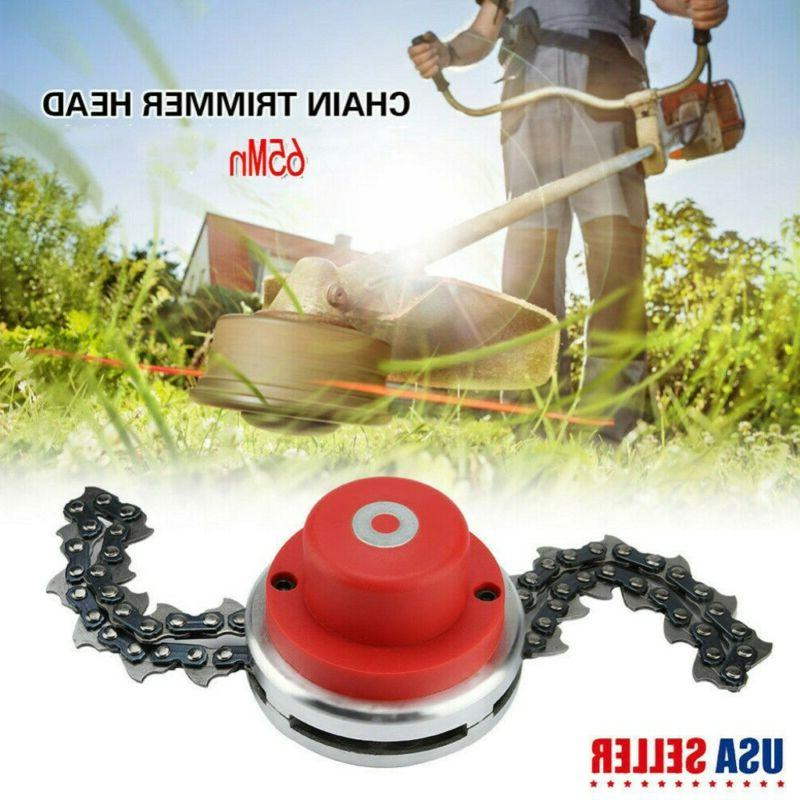 65Mn Trimmer Head Coil Chain Brush Garden Lawn