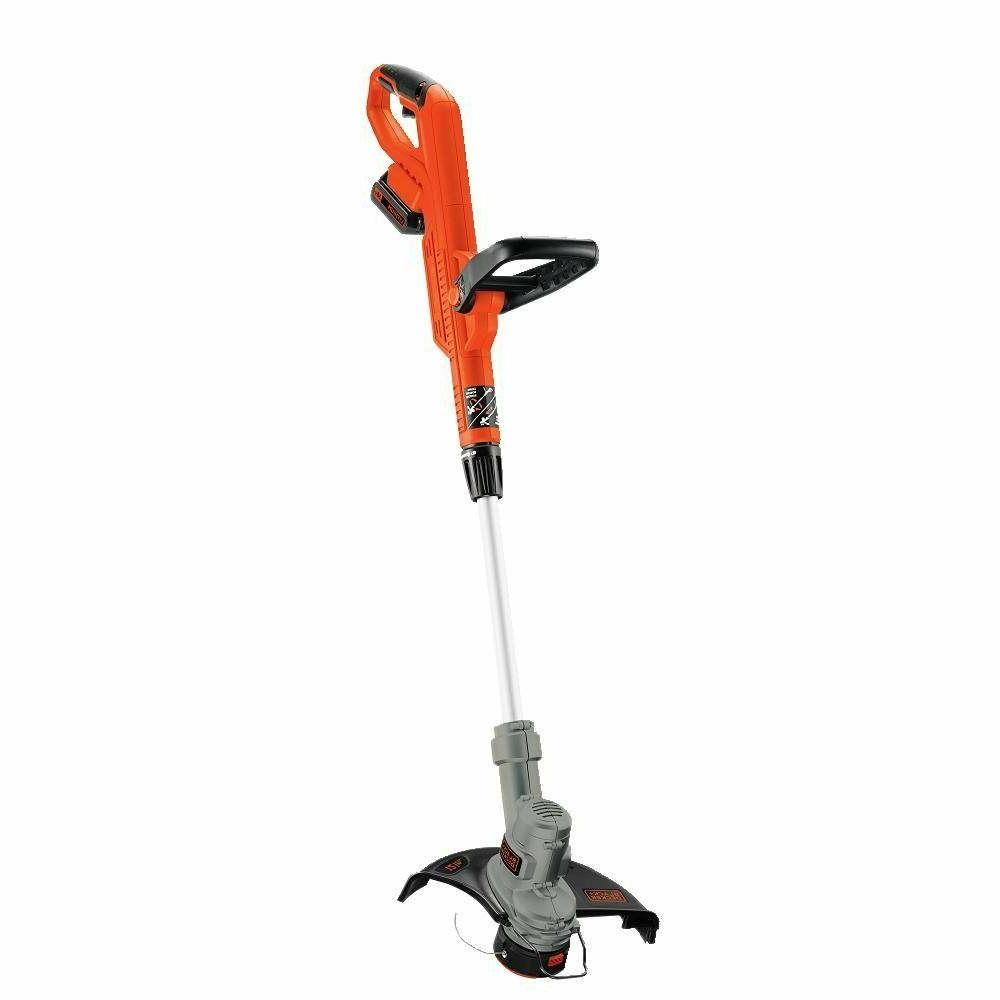 black and decker cordless weed eater grass