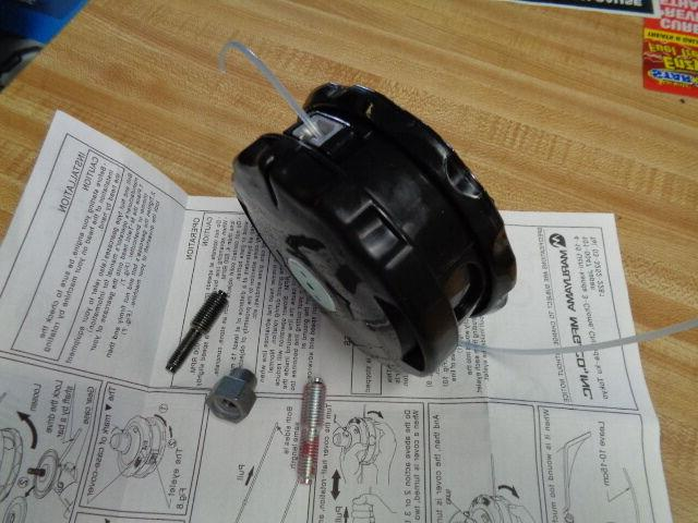 bump and feed commercial grass trimmer head
