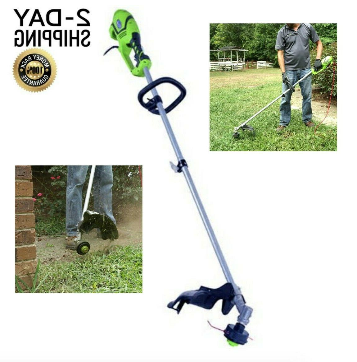 corded electric string trimmer weed eater lawn