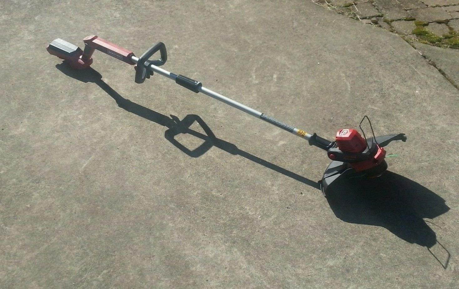 nice 60v cordless grass trimmer with battery