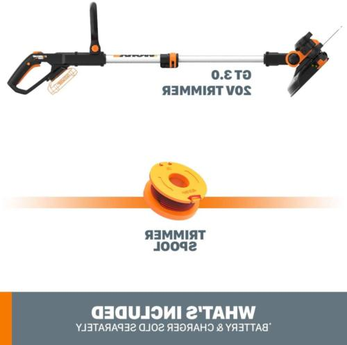 WORX WG163 MAX Powered String and