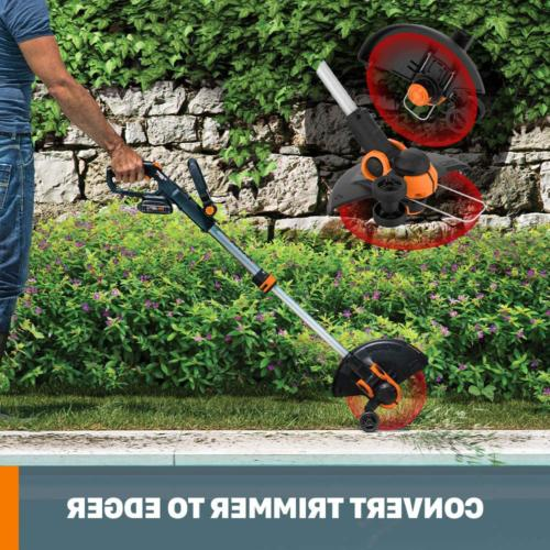 MAX Lithium Powered Grass String Trimmer