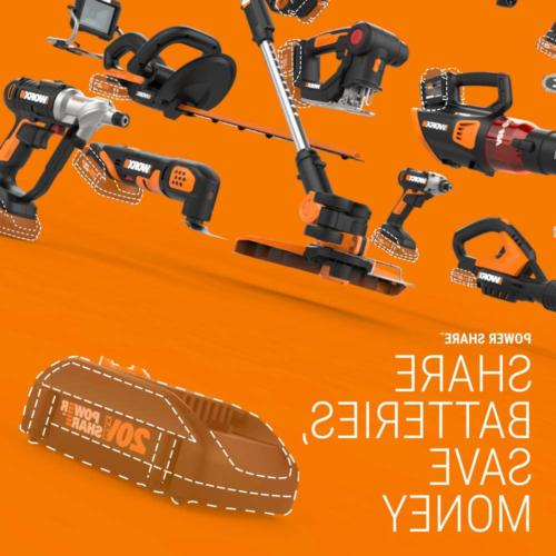 WORX WG163 20-Volt MAX String and