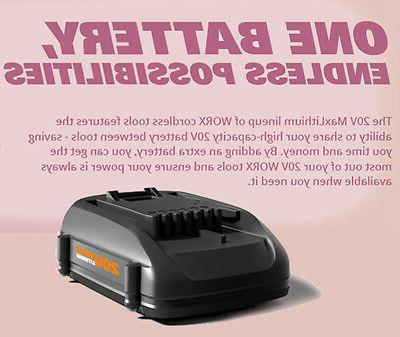 WORX WG170.2 GT 20V 60 Min Quick Charger