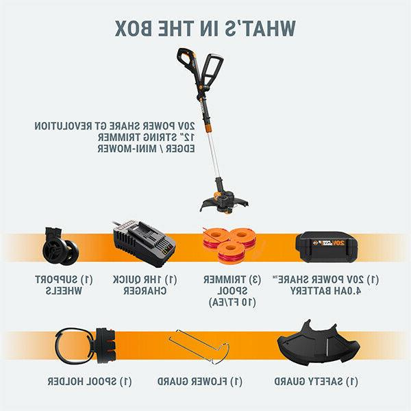 WORX 20V Cordless Min Quick Charger