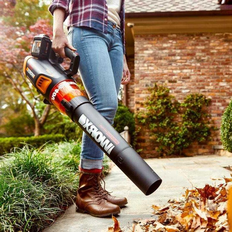 WORX 40V Share Grass and Blower Combo