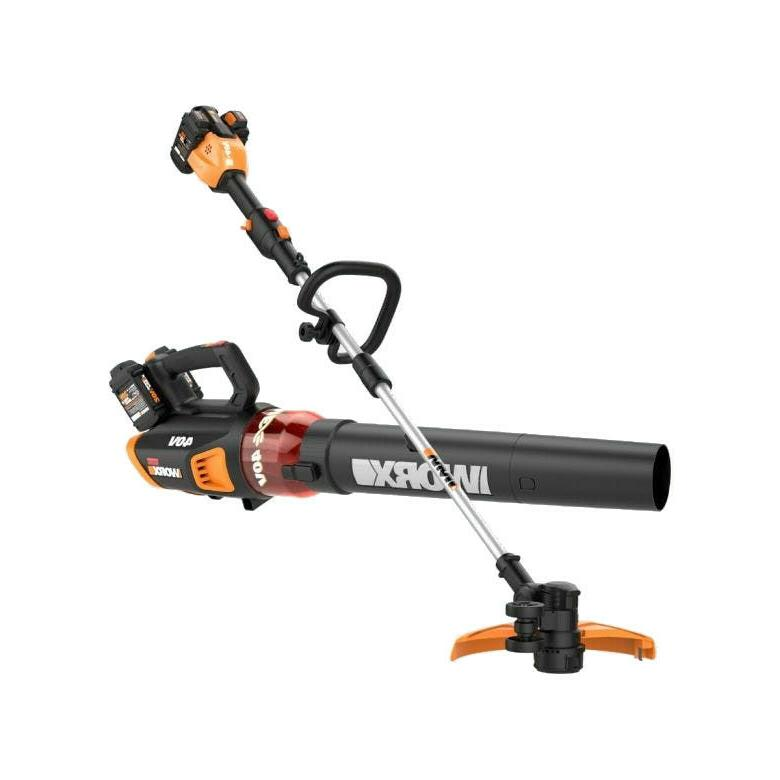 40v power share grass trimmer and blower