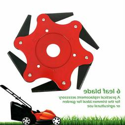 New 6 Steel Blades Razors 65Mn Lawn Mower Grass Eater Trimme