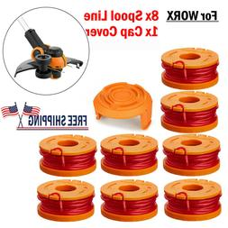NEW For Worx Spool Line String Trimmer Edger WA0010 WA0007 8