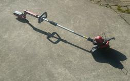 nice CRAFTSMAN 60V Cordless Grass Trimmer WITH battery & cha