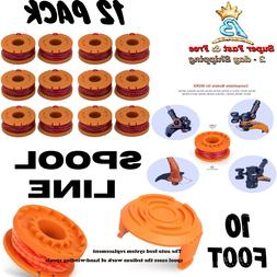 Spool Line Replacement For Worx Cordless Electric Grass Trim