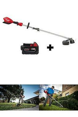 String Grass Trimmer Cordless Brushless 18-V 5.0Ah Battery A