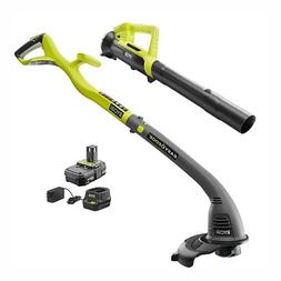 String Trimmer Edger & Blower Combo Kit Charger Included 18-