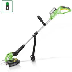 Weed Whacker - Electric Grass Edger String Trimmer w SereneL