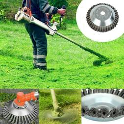 Universal Steel Wire Trimmer Head Blades Razors Lawn Mower G