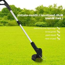 USB Cordless Electric Grass Trimmer Garden Lawn Weed String