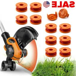 6/12Pack WA0010 Grass Trimmer Line For Worx Trimmer Spools W