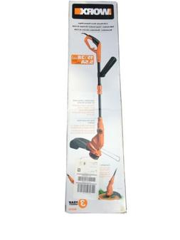 WORX WG119 Electric Grass Trimmer with Tilting Shaft, 15-Inc