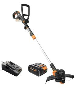 WORX WG170.3 20V 4.0 Cordless Grass Trimmer/Edger 60 Min Qui